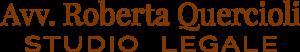 Logo avvocato roberta quercioli